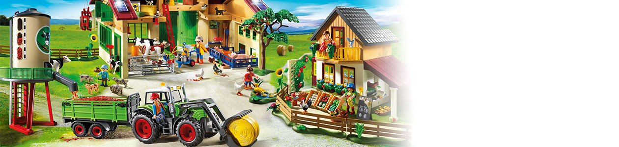 Collection Playmobil Country