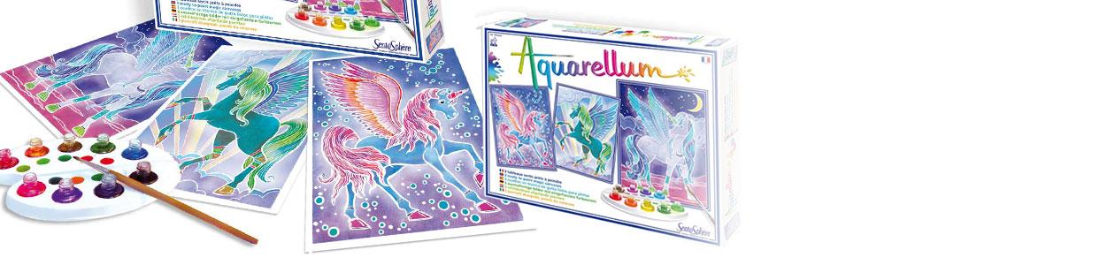 Catégorie Peintures Aquarellum