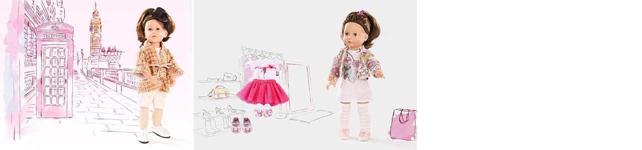Catégorie Type de poupées