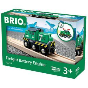Brio - 33214 - Locomotive de fret a pile - Thème Transport de marchandises - Age 3 ans + (101272)