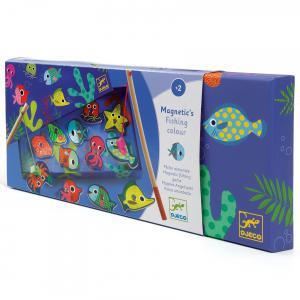 Djeco - DJ01653 - Pêches magnétiques - Fishing Colour (102465)