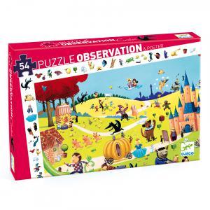 Djeco - DJ07561 - Puzzle observation Contes - 54 pièces (102562)