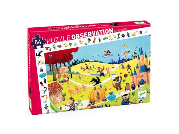Puzzles observation - contes - 54 pièces *