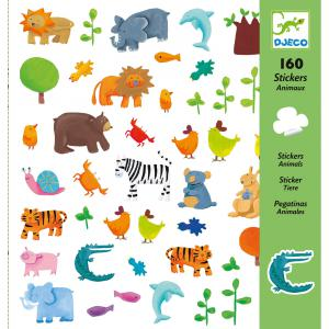 Djeco - DJ08841 - Stickers animaux (102594)