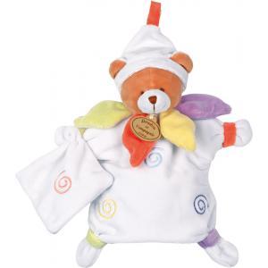 Doudou et compagnie - DC1061 - Marionnette  ours nuage de couleurs (103874)
