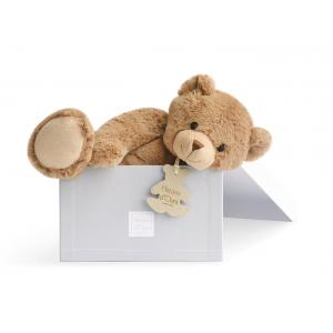 Histoire d'ours - HO1159 - Peluche Calin'ours 35 cm - marron 35 cm (103950)