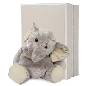 Histoire d'ours - HO1284 - Peluche Eléphant 38 cm  (104134)