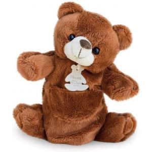 Histoire d'ours - HO1223 - Marionnette ours 25 cm (104182)