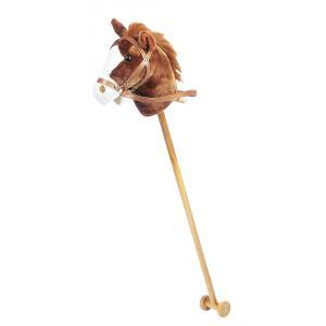 Histoire d'ours - HO1268 - Bâton musical - cheval marron 95 cm (104231)