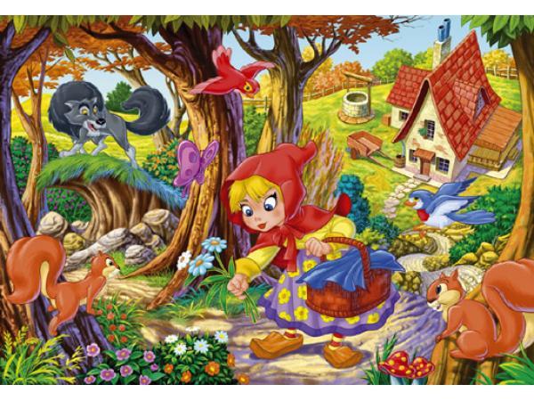 Clementoni Puzzle 60 Pièces Le Petit Chaperon Rouge