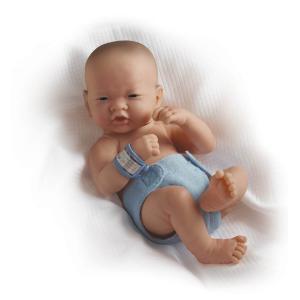 Berenguer - 18508 - Poupon Newborn nouveau né pleureur Asiatique sexué garçon 36 cm (107624)