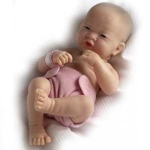 Berenguer - 18509 - Poupon Newborn nouveau né pleureur Asiatique sexué fille 36 cm (107625)