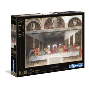 Clementoni - 31447 - Puzzles 1000 Pièces - Leonardo: Cenacolo (10930)