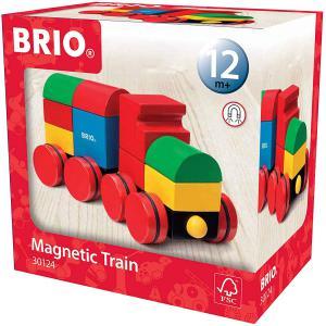Brio - 30124 - Train empilable magnétique - couleurs primaires - Age 12 m + (1165)
