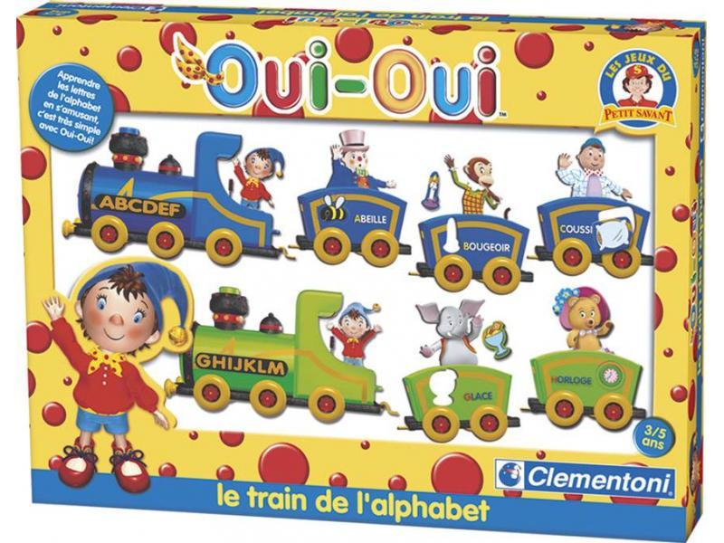 Clementoni oui oui et le train de l 39 alphabet - Oui oui et le train ...