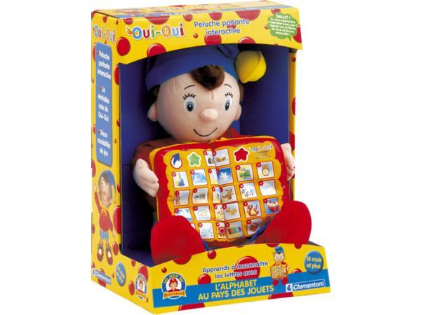 clementoni l 39 alphabet au pays des jouets oui oui. Black Bedroom Furniture Sets. Home Design Ideas