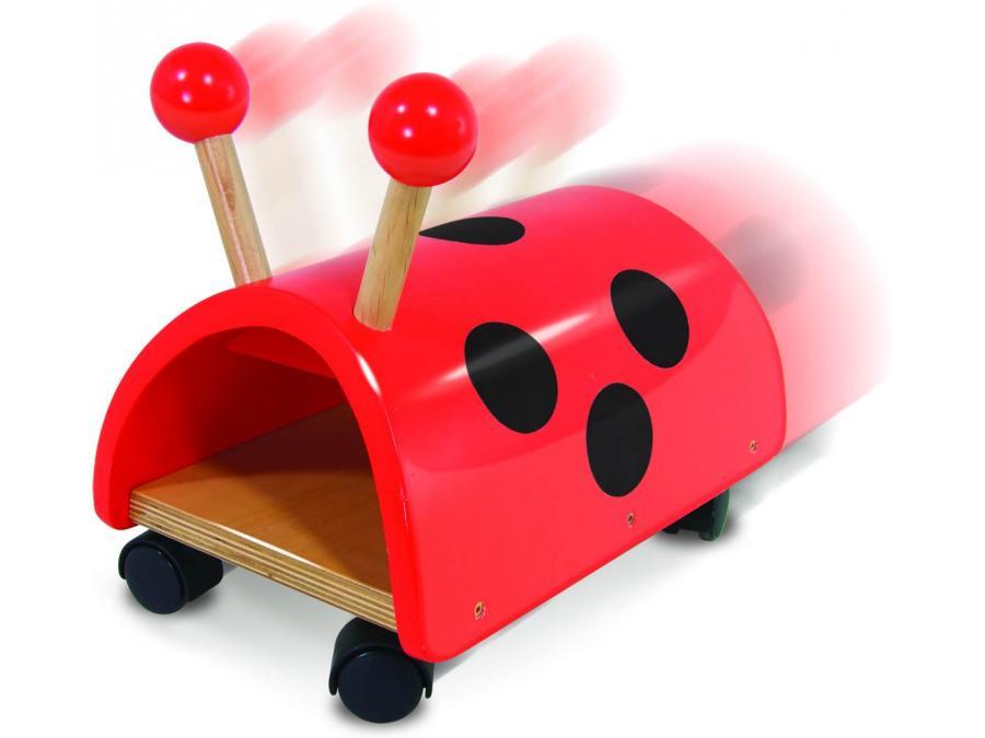 vilac combi retro 2 en 1 porteur coccinelle vilac rouge. Black Bedroom Furniture Sets. Home Design Ideas