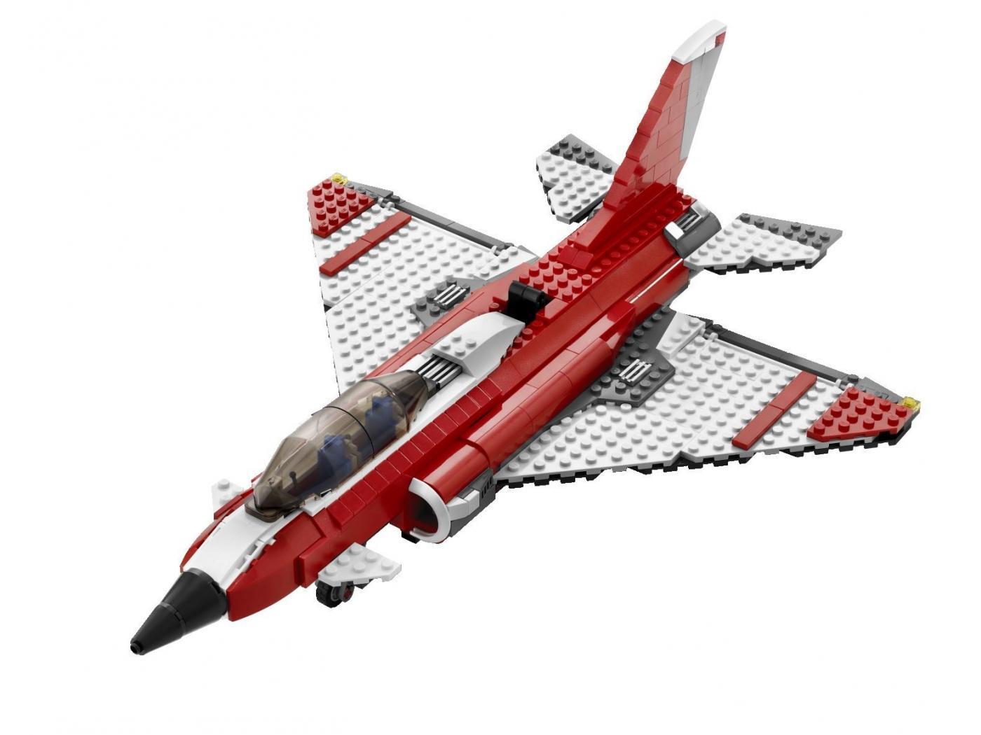 Lego l 39 avion supersonique - Avion de chasse en lego ...
