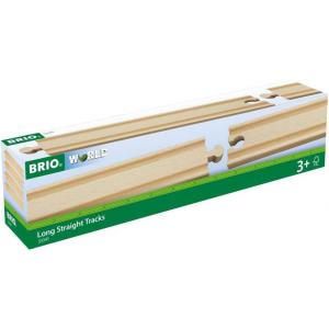 Brio - 33341 - Rails droits longs - 216 mm - Age 3 ans + (1257)