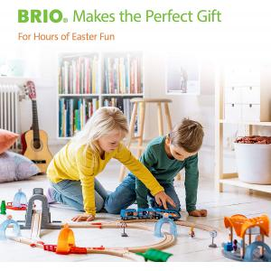 Brio - 33342 - Grands rails courbes - 170 mm - Age 3 ans + (1258)