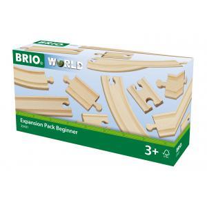 Brio - 33401 - Coffret évolution débutants -11 rails - Age 3 ans + (1269)