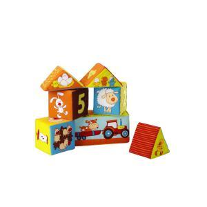 Lilliputiens - 86193 - 6 cubes Ferme (130863)
