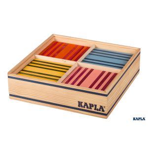 Kapla - OCT - KAPLA Octocolor, 100 planchettes KAPLA de 8 couleurs (131077)