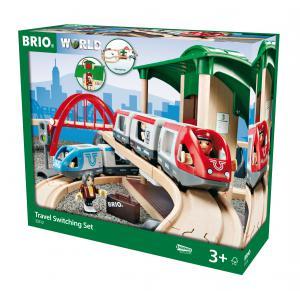 Brio - 33512 - Circuit plateforme voyageurs - Thème Voyageur - Age 3 ans + (131293)