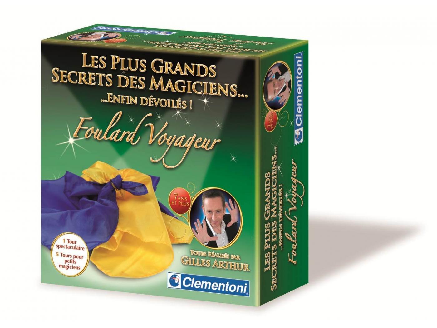 clementoni foulard voyageur jeux de magie. Black Bedroom Furniture Sets. Home Design Ideas