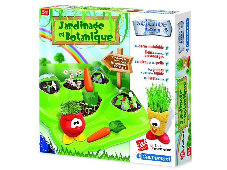 clementoni jardinage et botanique jeux scientifiques. Black Bedroom Furniture Sets. Home Design Ideas