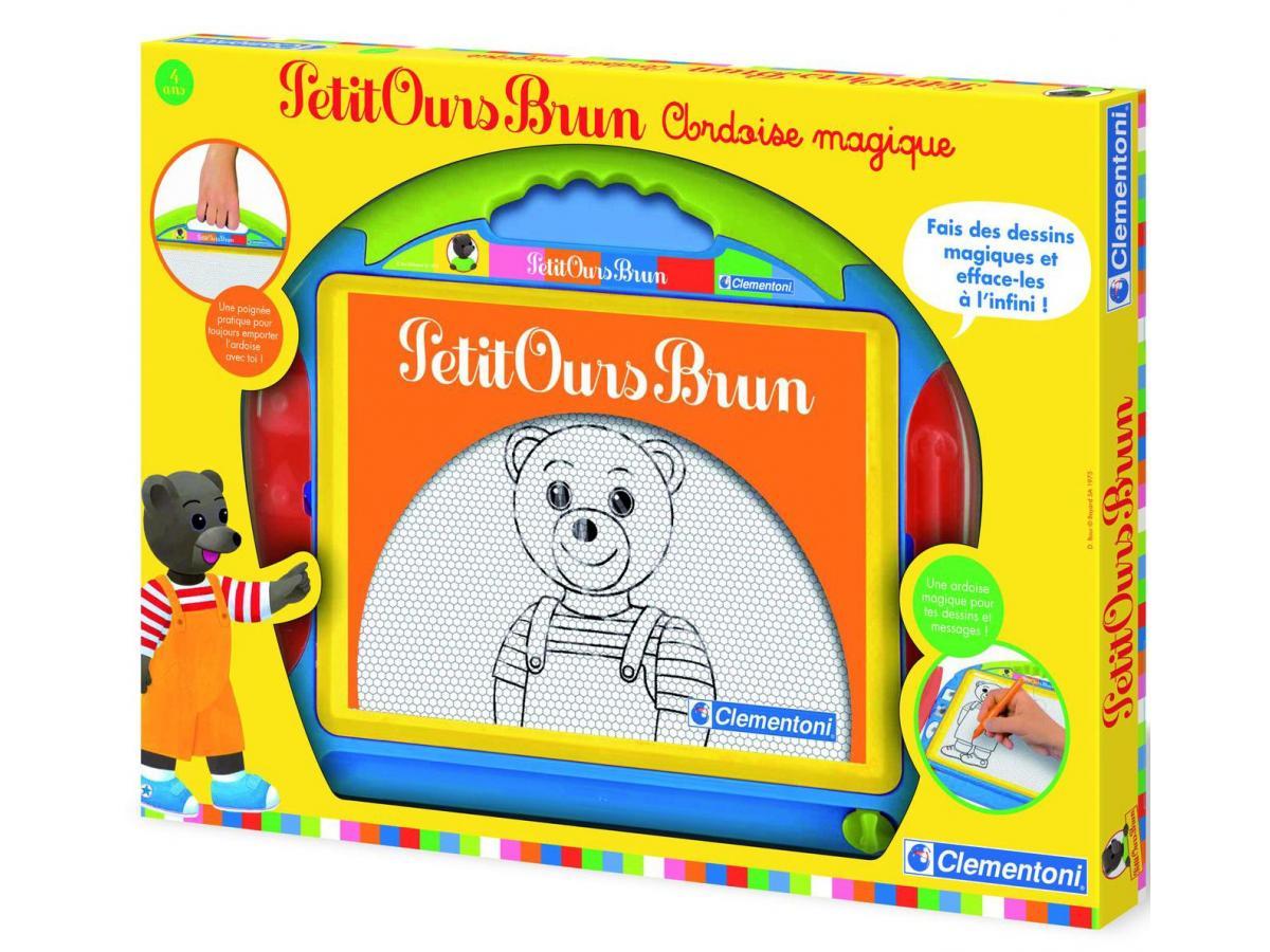 clementoni petit ours brun ardoise magique. Black Bedroom Furniture Sets. Home Design Ideas