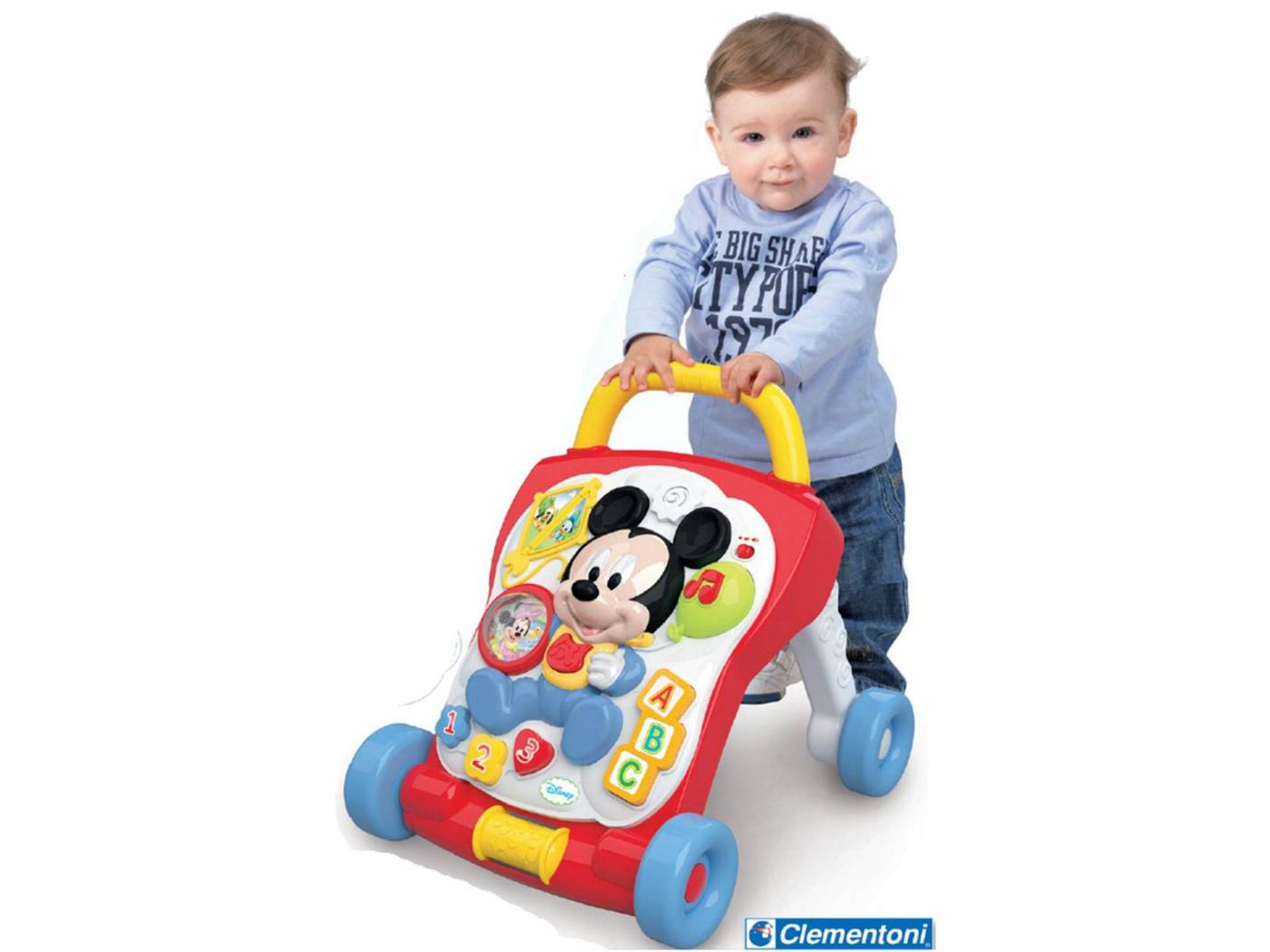 Clementoni - Trotteur Mickey - Disney Baby