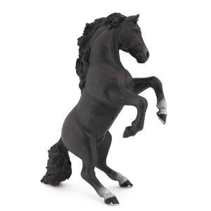 Papo - 51522 - Cheval cabré noir  - Dim. 12 cm x 5 cm x 14 cm (133471)