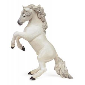 Papo - 51521 - Figurine Cheval cabré blanc (133473)