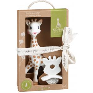 Vulli - 616624 - Sophie la girafe + Chewing rubber So'pure Sophie la girafe (134810)