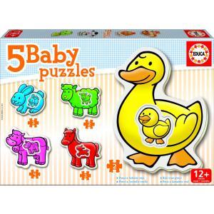 Educa - 14865 - Puzzle 12 mois la ferme (136996)