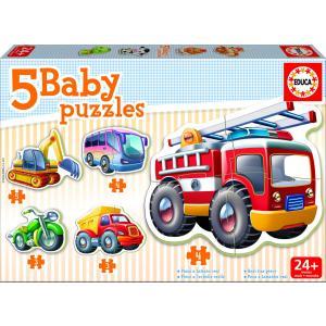 Educa - 14866 - Puzzle 24 mois véhicules (136998)