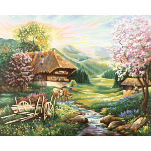 Schipper - 609130505 - Peinture aux numeros - Le printemps - Cadre 40/50 (137470)