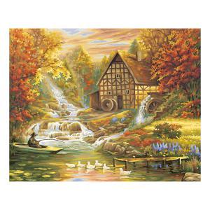 Schipper - 609130507 - Peinture aux numeros - L 'automne - Cadre 40/50 (137474)