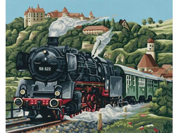 Schipper peinture aux num ros locomotive vapeur for Chambre complete adulte payer en plusieurs fois