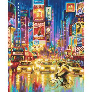 Schipper - 609360555 - Peinture aux numeros - New York Times Square - Cadre 50/60 (137660)