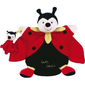 Doudou et compagnie - 1568 - Marionnette  Lady cocci et bebe (137826)