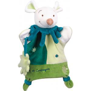 Doudou et compagnie - 1493 - Marionnette  souris verte (137852)