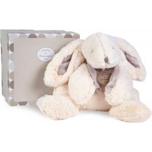 Doudou et compagnie - 1243 - Lapin bonbon 30 cm - taupe - boîte cadeau (137994)