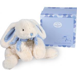 Doudou et compagnie - 1241 - Lapin Bonbon  bleu grand modèle (137998)