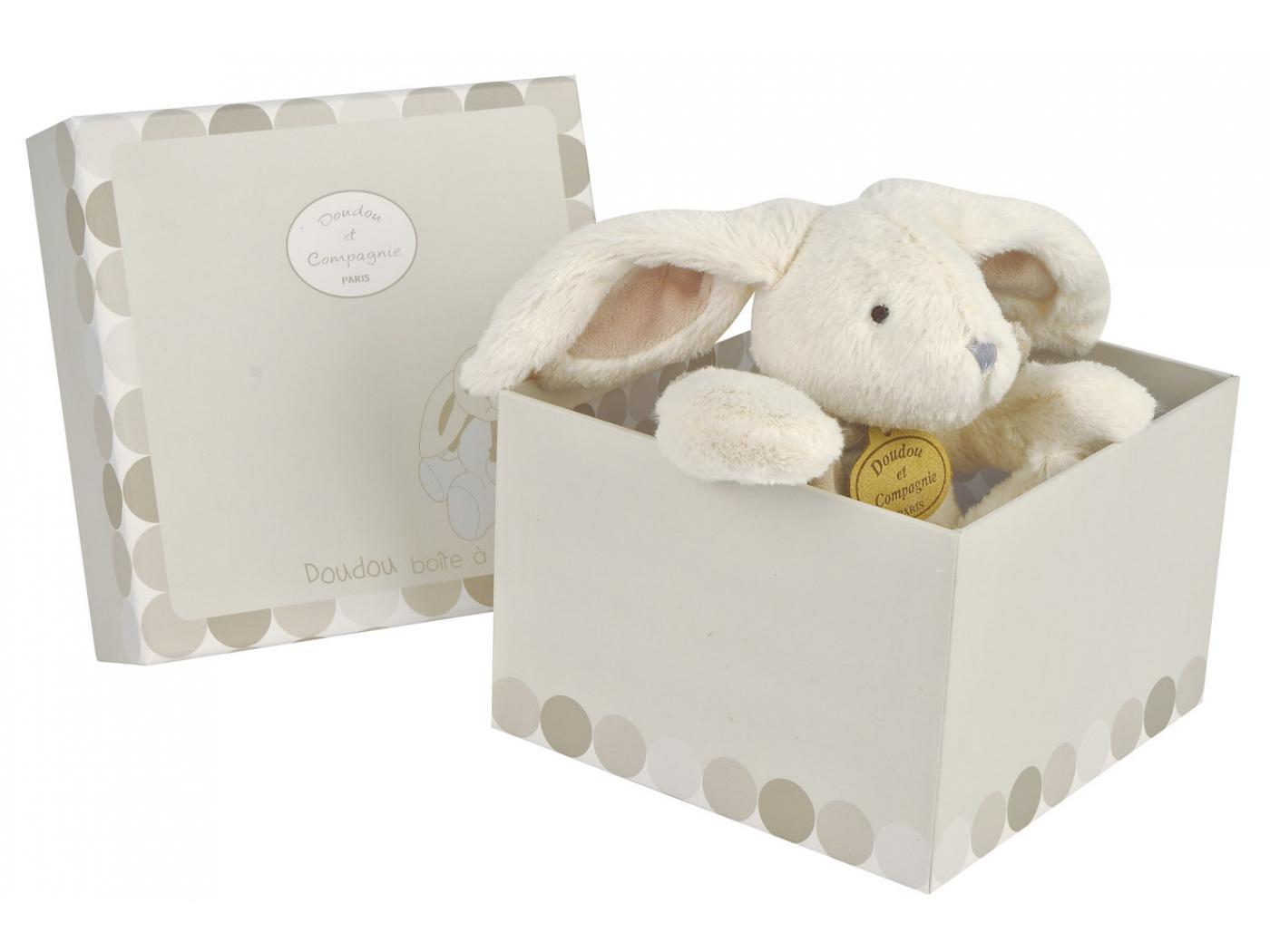 doudou et compagnie lapin bonbon bo te musique taupe b b livr en bo te cadeau 16 22 cm. Black Bedroom Furniture Sets. Home Design Ideas