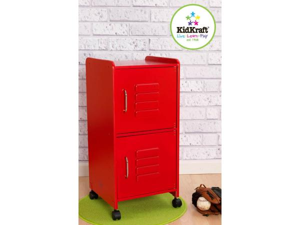 Kidkraft casier taille moyenne rouge - Taille moyenne enfant ...