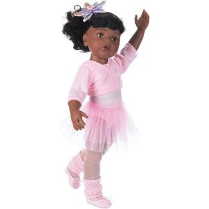Gotz - 1159850 - Poupée 50 cm - Hannah at the ballet, afro-americaine,15-pcs. (139486)