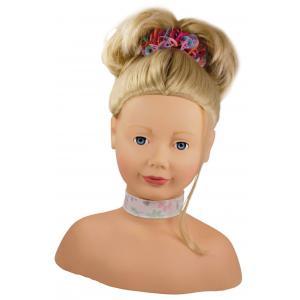 Gotz - 1192052 - Tête à coiffer et à maquiller cheveux blonds, yeux bleus - 58 pièces (139494)