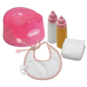 Gotz - 3401935 - Basic Care Set, pour 33-42 cm, 6 pieces  (139584)